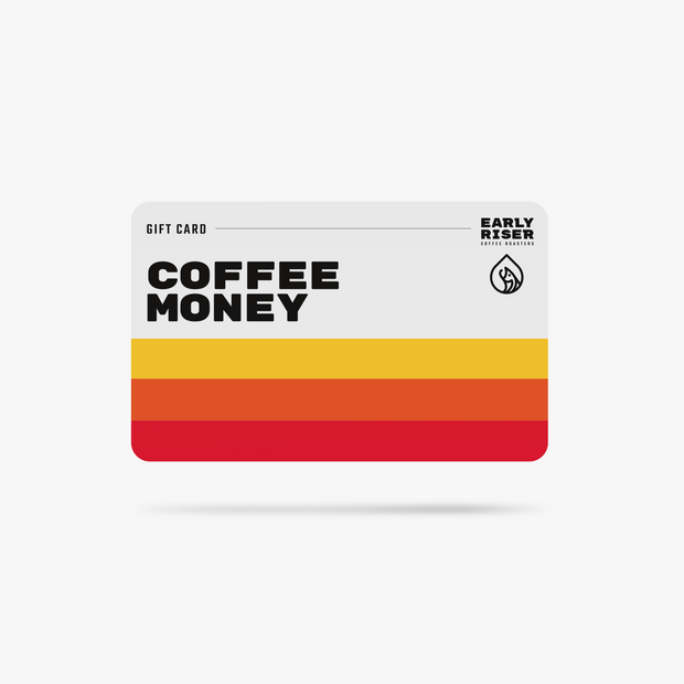 Coffee Money Gift Card