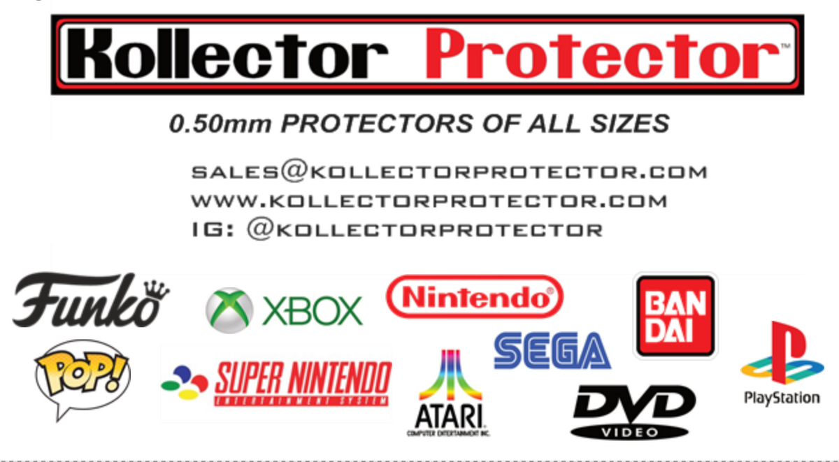 Kollector Protector Contact Information for Plastic Box Protectors of all Sizes.