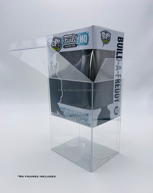 4 inch Funko POP! Protectors made with SCRATCH & UV RESISTANT 0.50mm thick PET Acid-Free Plastic