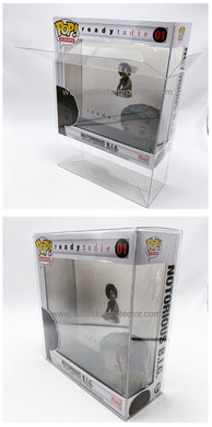 Funko Pop! Albums Protector made with SCRATCH & UV RESISTANT 0.50mm thick PET Acid-Free Plastic - Please Read Description