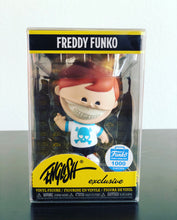 Load image into Gallery viewer, FREDDY FUNKO VINYL (Smaller Size) Box Protector made with 0.50mm thick PET Acid-Free Plastic - Please Read Description