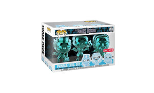 Haunted Mansion Chrome, Splash Mountain 3-Pack Funko POP! Protectors made with 0.50mm thick PET Acid-Free Plastic - Please Read Description