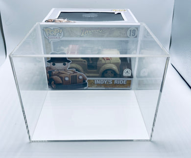 Funko POP! Rides Hard Case made with 5mm thick UV PROTECTED acrylic