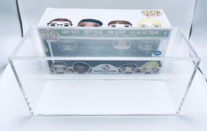 Funko POP! 4 Pack Hard Case made with 5mm thick UV PROTECTED acrylic
