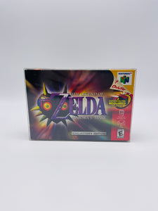 UV & SCRATCH RESISTANT Super Nintendo/N64 Video Game Box Protectors made with 0.50mm thick PET Acid-Free Plastic