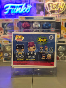 2-Pack Funko POP! Protector made with 0.50mm thick PET Acid-Free Plastic (DOES NOT FIT NEW SDCC SONIC 2 PACK FUNKO)