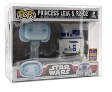 Load image into Gallery viewer, 2-Pack Funko POP! Protector made with 0.50mm thick PET Acid-Free Plastic - Please Read Description
