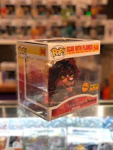 Jim Lee Deluxe Joker/Lion King Scar/White Walker on Horse Funko POP! Protector made with 0.50mm thick PET Acid-Free Plastic