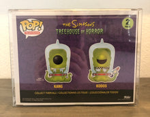 Load image into Gallery viewer, KANG & KODOS 2-Pack Funko POP! Protector made with 0.50mm thick PET Acid-Free Plastic - Please Read Description
