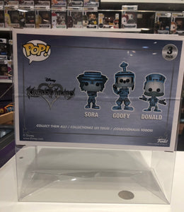 3-Pack Funko POP! Protectors Original Size made with 0.50mm thick PET Acid-Free Plastic - Please Read Description for what this fits
