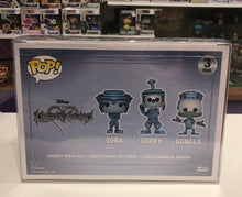 Load image into Gallery viewer, 3-Pack Funko POP! Protectors Original Size made with 0.50mm thick PET Acid-Free Plastic - Please Read Description for what this fits