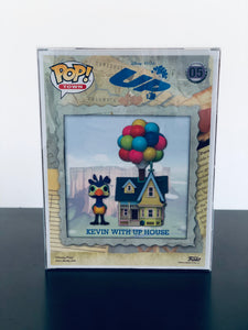 Disney Up House with Kevin Funko POP! Box Protector made with 0.50mm thick PET Acid-Free Plastic