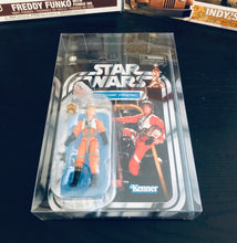 Load image into Gallery viewer, Kenner Star Wars Card Back Figure Protector made with 0.50mm thick PET Acid-Free Plastic
