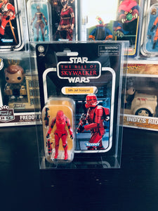 Kenner Star Wars Card Back Figure Protector made with 0.50mm thick PET Acid-Free Plastic