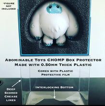 Load image into Gallery viewer, Abominable Toys Chomp Box Protector made with 0.50mm thick PET Acid-Free Plastic - Please Read Description