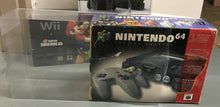 Load image into Gallery viewer, Nintendo 64 Funtastic Set Console Box Protector made with 0.50mm Thick Plastic - PLEASE READ WHAT THIS PROTECTOR FITS