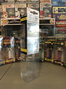 Funko POP! Pez Box Protectors made with 0.50mm thick PET Acid-Free Plastic - Perfect Fit with Lay Flay Lid Technology