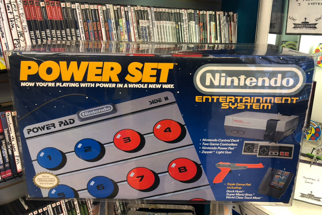Nintendo Entertainment System Power Set Console Box Protector made with 0.70mm Thick Plastic - Sturdiest Protectors on the Market!