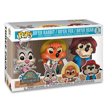 Load image into Gallery viewer, Haunted Mansion Chrome, Splash Mountain 3-Pack Funko POP! Protectors made with 0.50mm thick PET Acid-Free Plastic - Please Read Description
