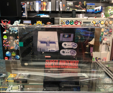 Super Nintendo Entertainment System Super Set Console Box Protector made with 0.70mm Thick Plastic - Sturdiest Protectors on the Market!