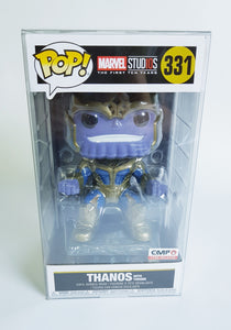 Thanos on Throne Funko POP! ASIA Box Protector made with 0.50mm thick PET Acid-Free Plastic