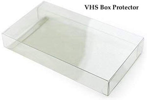 VHS Box Protectors made with 0.50mm thick PET Acid-Free Plastic - Thickest on the Market! FREE Economy Shipping!