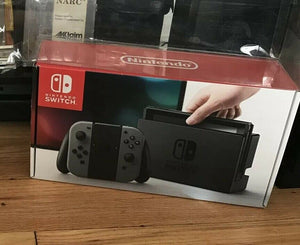 Nintendo Switch Console Box Protector made with 0.50mm Thick Plastic - Original Box Size - Sturdiest Protectors on the Market!