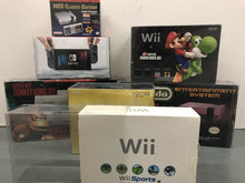 Load image into Gallery viewer, Nintendo Wii White Original Edition Console Box Protector made with 0.50mm Thick Plastic - Sturdiest Protectors on the Market!