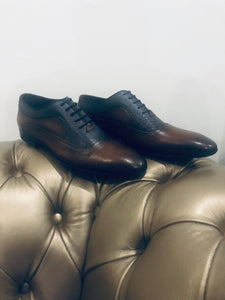 001- Fabio DIVAYO lace up: Brown