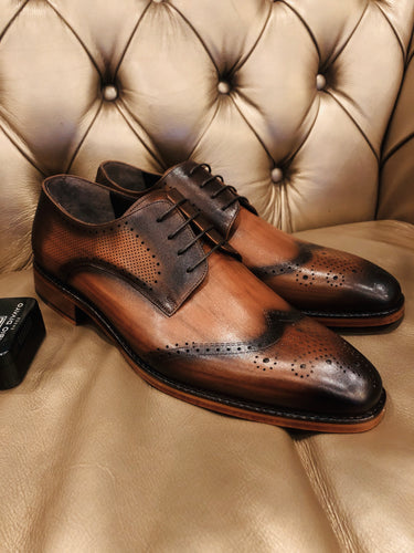 066 - Fabio DIVAYO Classic lace up: Brown