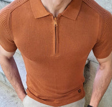 Load image into Gallery viewer, 11324 :knit top - Tobacco