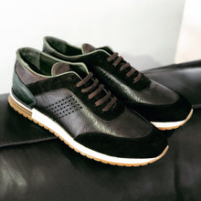 Load image into Gallery viewer, 013 - Pier Lucci Leather Sneaker- Brown