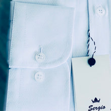 Load image into Gallery viewer, Sergio Alvajee: White shirt