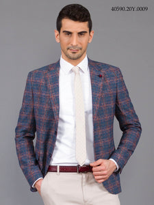 40590 : Dark Blue Sport Blazer
