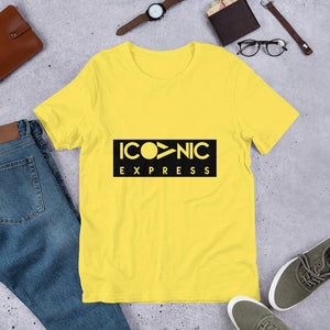 Iconic Express - تي شيرت للجنسين - Iconic Express