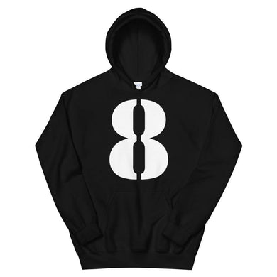 Number 8 - Unisex Hoodie-Iconic Express-Iconic Express