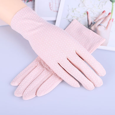 Driving gloves sun protection gloves mittens women driving gloves