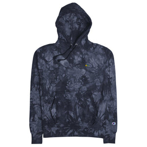 Iconic Express unisex champion tie-dye hoodie - Iconic Express