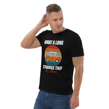 Load image into Gallery viewer, Long strange trip - unisex organic cotton t-shirt - Iconic Express
