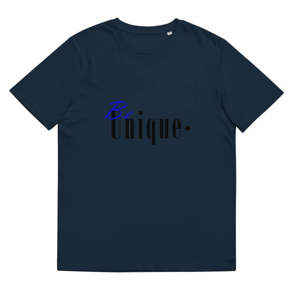 Be unique - unisex organic cotton t-shirt
