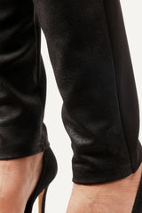 Pinpoint - Pull on faux cracked leather pant