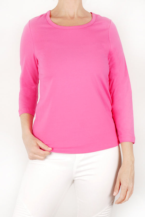 Orly essential 3/4 sleeve top