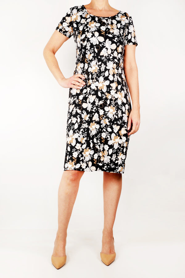 Mandee floral design sun dress