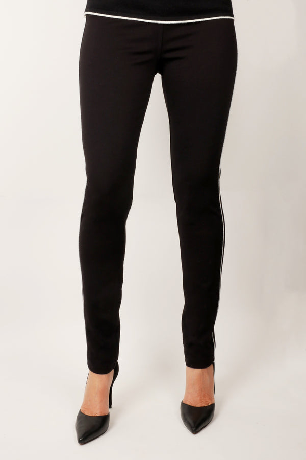 Pinpoint - Contrast piping detail pant