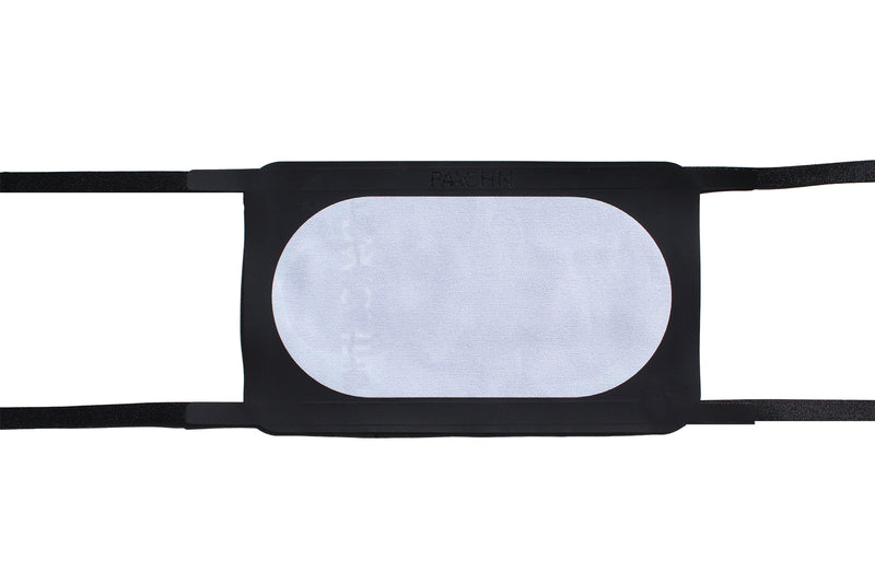 'The Boxer' Adjustable Cloth Face Mask: Black