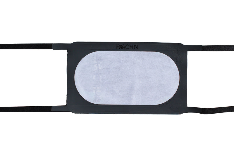 'The Boxer' Adjustable Cloth Face Mask: Grey