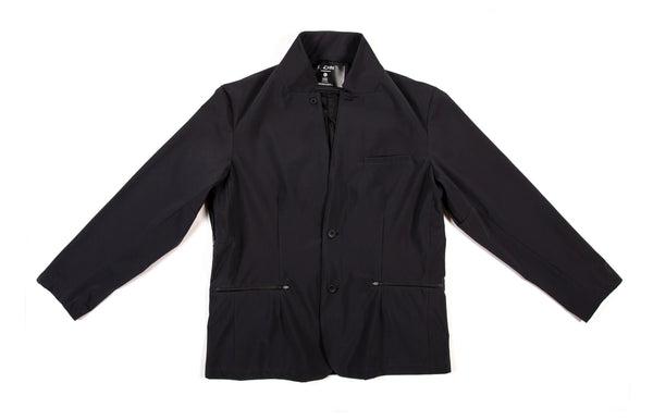 'The Boxer' Tech Blazer (EP): Black