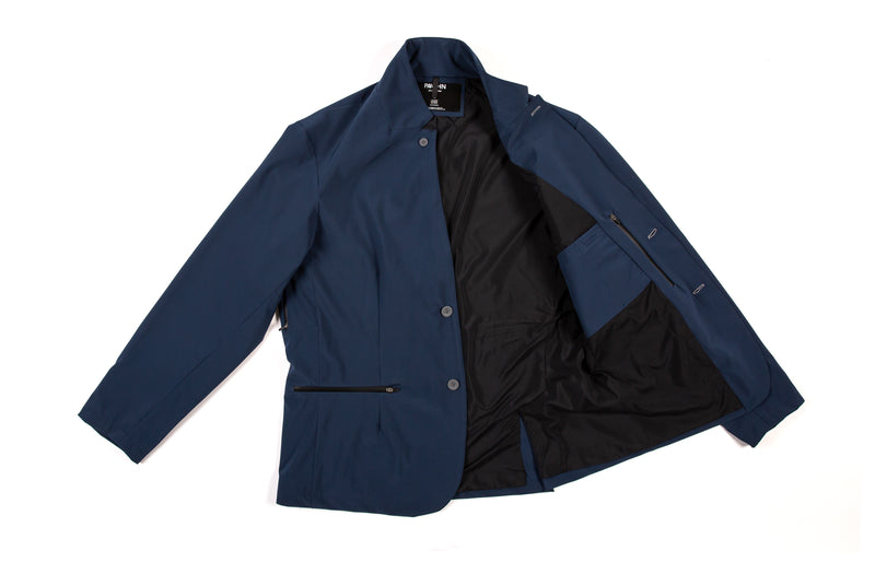 'The Boxer' Tech Blazer (EP): Navy