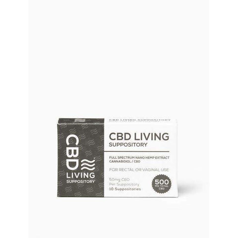 CBD Living Suppositories - BODY100