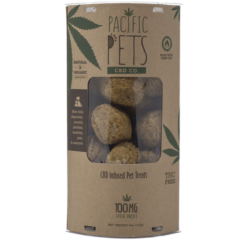 Pacific Pets CBD Co. Treats - 100mg Wholesale - BODY100